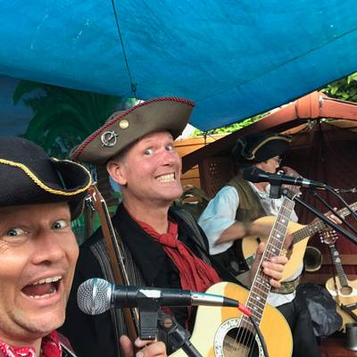 Piratitude Gallery Image. -  Pirate Party Band