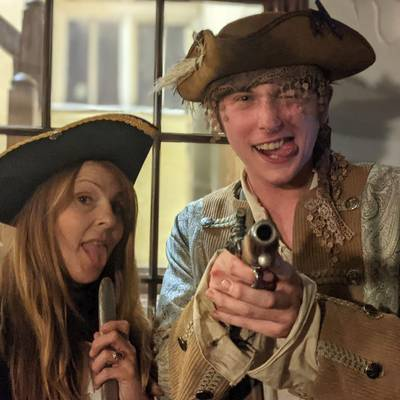 Piratitude Gallery Image. -  Saucy pirates on Talk Like a Pirate Day