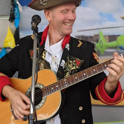 Piratitude Gallery Image. -  Piratitude play for the opening of Air Ambulance shop in Yate
