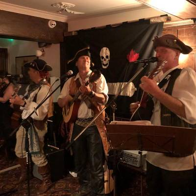 Piratitude Gallery Image. -  Piratitude at the Llandoger Trow