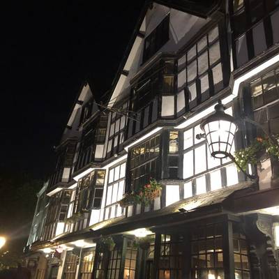 Piratitude Gallery Image. -  Bristol's Llandoger Trow, historic pirate pub.
